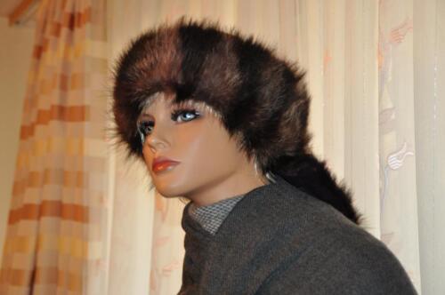 Echt Pelz Waschbär Echt Fell Stirnband  Kragen  ca.72cm.x 19cm. + in Mannheim
