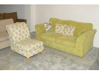 2 Seater Sofa Bed and Chair DFS | Free delivery