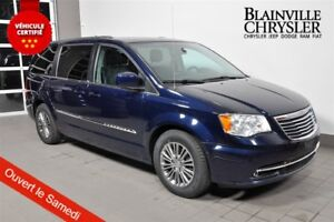 2014 Chrysler Town & Country TOURING - CUIR - CAMERA RECUL - BLU