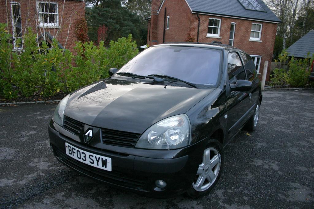 Renault Clio 2003 Interior 2003 Renault Clio 1 2
