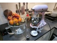 KitchenAid KSM150PS Artisan 5-qt. Stand Mixer Light Pink #Great Value Barely used & New-looking