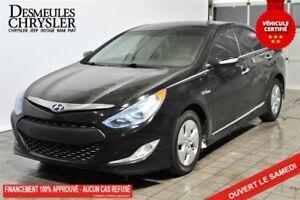 2012 Hyundai Sonata Hybrid CUIR*BLUETOOTH*MAGS*SIÈGE ELECTRIQUE