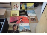 SELECTION OF 11 LP'S MOVIE THEMES, CLASSICAL, CHRISTMAS