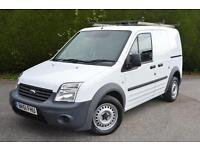 FORD TRANSIT CONNECT T200 LR VAN A/C P/SENSORS 1 OWNER (white) 2011
