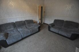 2 Sofas - recliners great condition