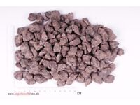 20 Kg RED GRANITE CHIPPINGS - Free Delivery