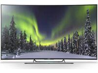 SONY 55 INCH CURVED 4K ULTRA HD 3D SMART LED TV (KD55S8505C)