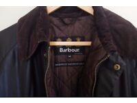Barbour Bedale Jacket - Mens- Medium - Brown