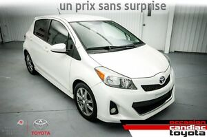 2012 Toyota Yaris SE * MANUEL * PACK ELECT. * MAGS *