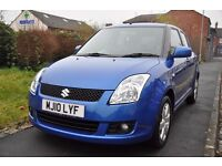 SUZUKI SWIFT 1.3 GLX 5DR PETROL (LOW MILEAGE, FULL SERVICE HISTORY)