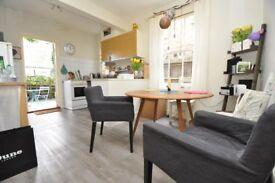 Ground floor ex-warner one bedroom flat with private garden