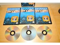Friends DVDs complete series 8/9/10