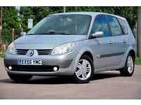 2005 Renault Grand Scenic 2.0 VVT Privilege 5dr+MPV+AUTOMATIC+HALF LEATHER+7 SEATER+12 MONTHS MOT