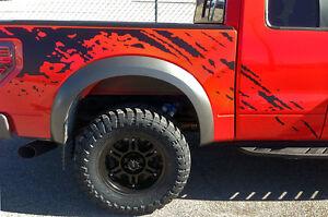 F-150 SVT Raptor Fender Bed Splash Mud predator vinyl graphics decals F150 Ford