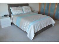 King Size Bedding - Main colours Beige & Cream