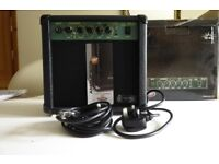 Stagg portable amplifier, used only a couple of times.
