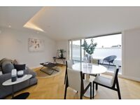 TOP FLOOR 1 BED FLAT WITH PRIVATE TERRACE FOR SALE IN PRIME NOTING HILL