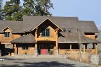 Stunning Timber Frame Home on 7 Private Lakefront acres!