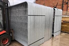 🏗 New Heras Fencing Set ~ Panel/Foot/Clip