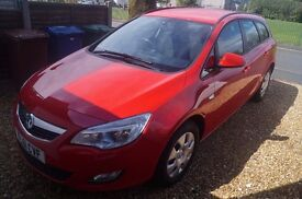 Vauxhall Astra 1.7 CDTi ecoFLEX 16v Exclusiv 5dr, 12 months MOT, full Service History, Low Tax
