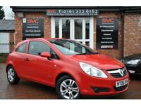 VAUXHALL CORSA 1.2 BREEZE 3d 80 BHP 11 MONTHS MOT / 2 KEYS (red) 2008