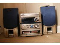 AIWA Hi-Fi Digital Audio System model Z – L520 . VGC. Working
