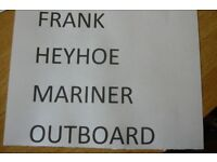 PLEASE COULD MR. FRANK HEYHOE CONTACT STEVE ON 01698 841775