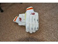 New Balance cricket gloves youths - Hardly worn.