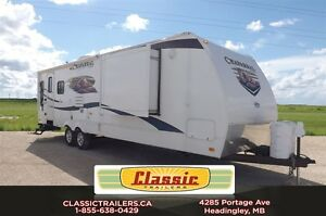 2011 chaparral 30RLS Great rear living room floorplan for a coup