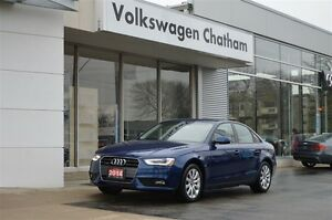 2014 Audi A4 2.0 Komfort quattro Heated Leather