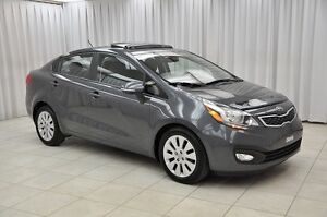 2014 Kia Rio EX GDi SEDAN w/ BLUETOOTH, BACK-UP CAM, HTD SEATS,