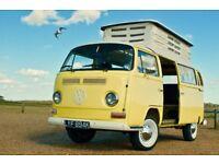 1972 Volkswagen T2 ('crossover') Bay Window Devon Camper in lovely condition