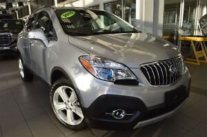 2015 Buick Encore Leather| Pwr Heat Seats| Sun| Rmt Strt| Safety