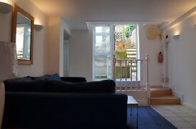 SPACIOUS large TWO BEDROOM FURNISHED basement Garden Chiswick flat