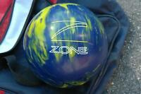 ZONE BOWLING BALL + BOWLING SHOES + BRUNSWICK BAG