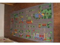 Childrens car mat
