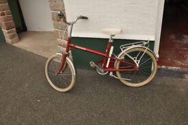 Children's bicycle.