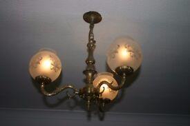2 Pendant light fittings