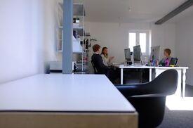 Desk Space in Creative Studio.