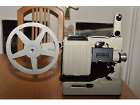 Cine Preojector Standard 8 mm Self Threading and with Optical Zoom