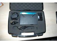 Shure Wireless T11-AQ Transmitter / T3-AQ Reciever System Wireless Ssytem for Guitar and Bass
