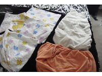 SELECTION OF BABY COT SHEETS ALL IN GREAT CONDITION