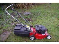 "Rover 18"" Self Propelled mower for sale."