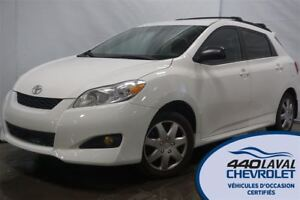 2013 Toyota Matrix AIR BLUETOOTH GR ÉLECTRIQUE