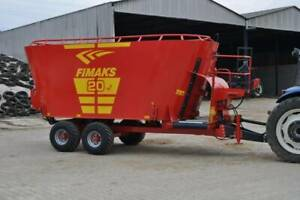 2019 New Fimaks 20m3 distributed by Sammut Agricultural Machinery Freemans Reach Hawkesbury Area Preview