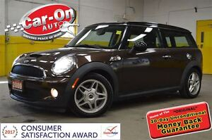 2009 MINI COOPER S 6 SPEED & LEATHER ONLY 62, 000KM!