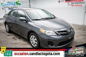 2013 Toyota Corolla CE * * AC * SEULEMENT 31265 KM *