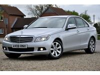 2008 Mercedes-Benz C Class 1.8 C180 Kompressor SE 4dr+JUST SERVICED+LEATHER+READY TO DRIVE AWAY