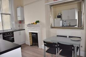FURNISHED TWO BEDROOM FLAT, SW4 CLAPHAM COMMON AND HIGH ST, PROFESSIONAL SHARERS, DIRECT LANDLORD