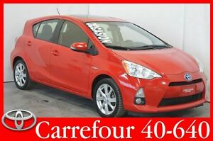 2013 Toyota Prius c Technology GPS+Cuir+Toit Ouvrant 4.0L/100 Km